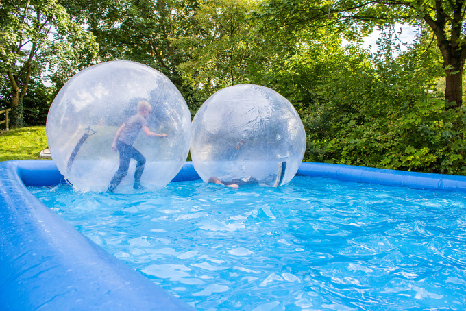 Waterballs bei Run & Fun